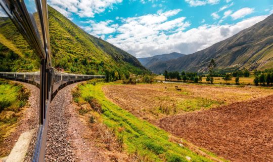 train tours in south america