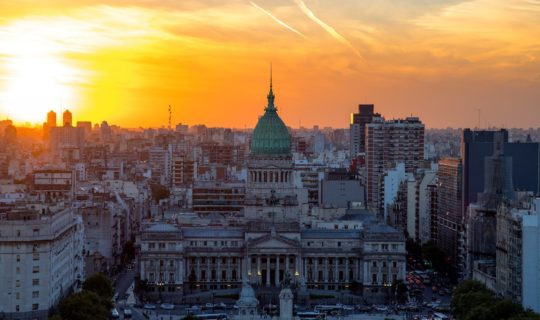 aerial-view-of-buenos-aires-with-sunset-and-city