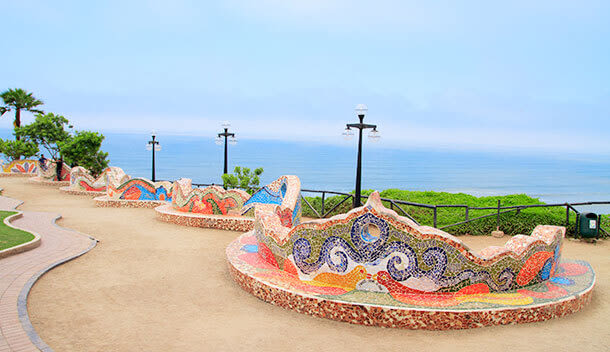 park of love in lima peru