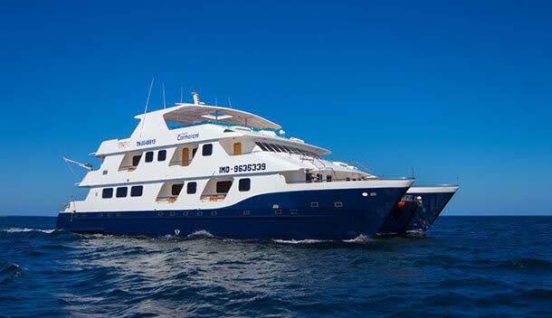 exterior of cormorant cruise ship