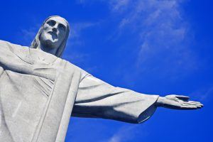 Best South American Country to Visit: Christ Redeemer Rio de Janeiro Brazil