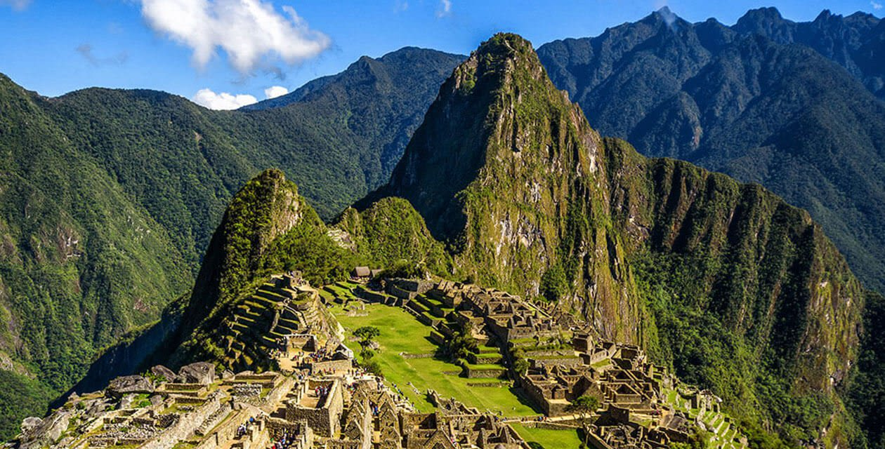 Machu Picchu on clear day - Safest Countries in South America