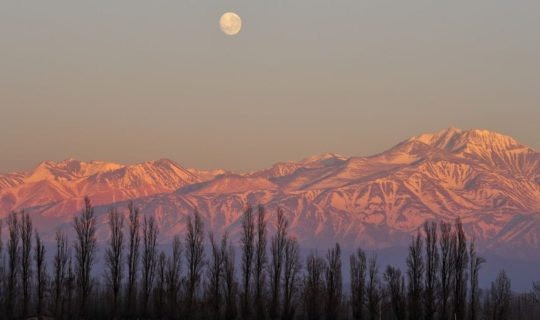 pink-andes-during-sunest-in-mendoza-argentina