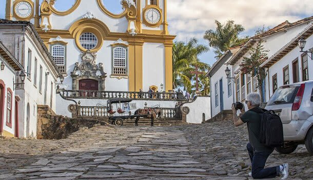 church in tiradentes brazil
