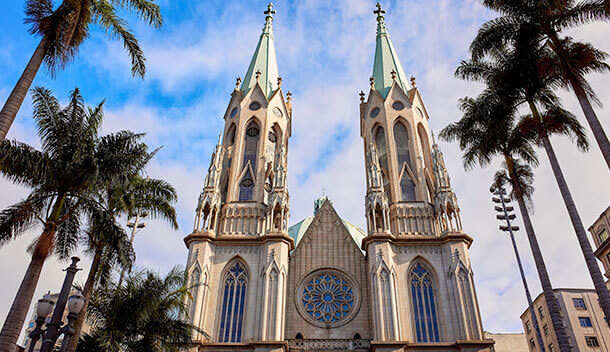 Se Cathedral in Sao Paulo