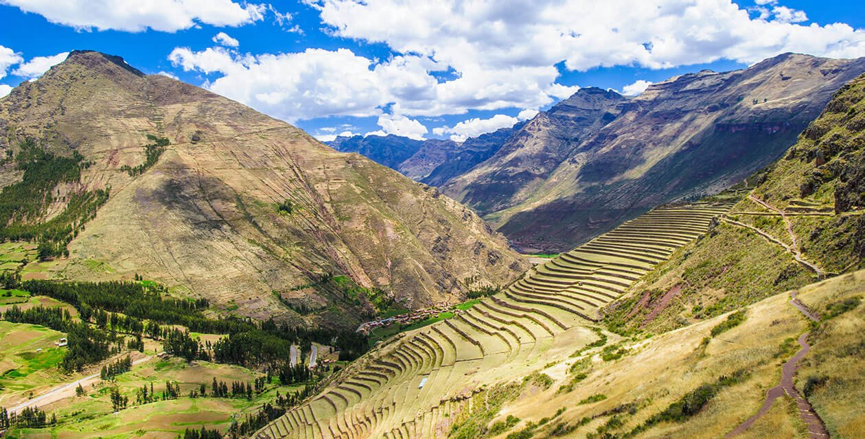 landscape photo of the sacred valley peru