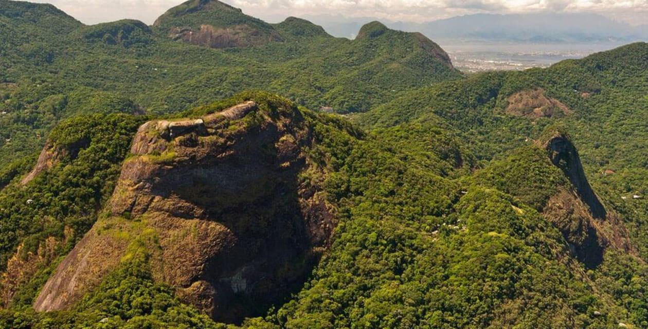 activities in brazil: views of atlantic rainforest mountains
