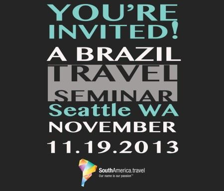 You're Invited to a Brazil Travel Show in Seattle