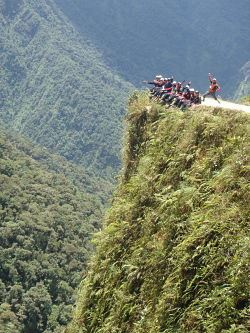 Yungas Death Road Trail