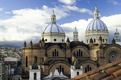 Things to do in Cuenca Ecuador - Domes Cathedral