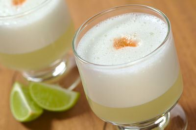 pisco sour - most popular south american drinks