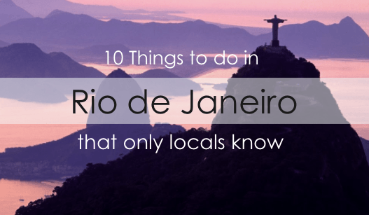 things to do in rio
