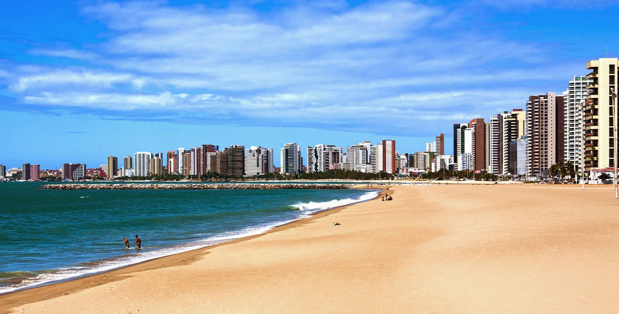 Fortaleza city beach