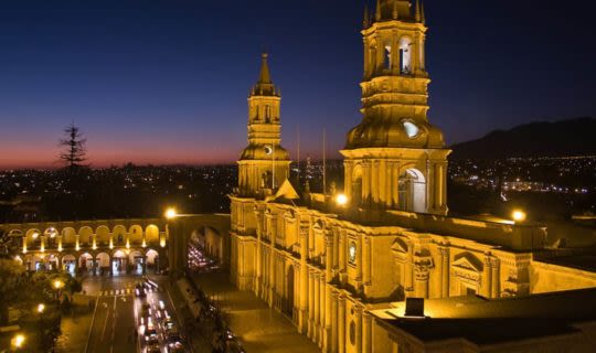 lima-peru-santo-domingo-monastery-at-night-on-a-peru-tour