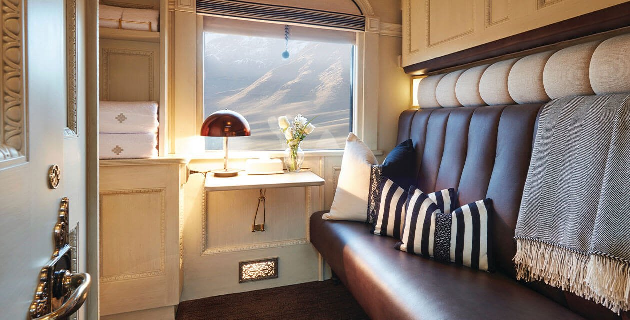 luxury cabin on the andean explorer