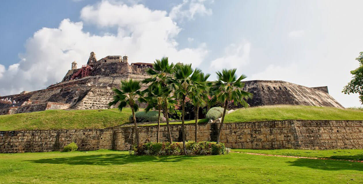 famous castle in cartagena