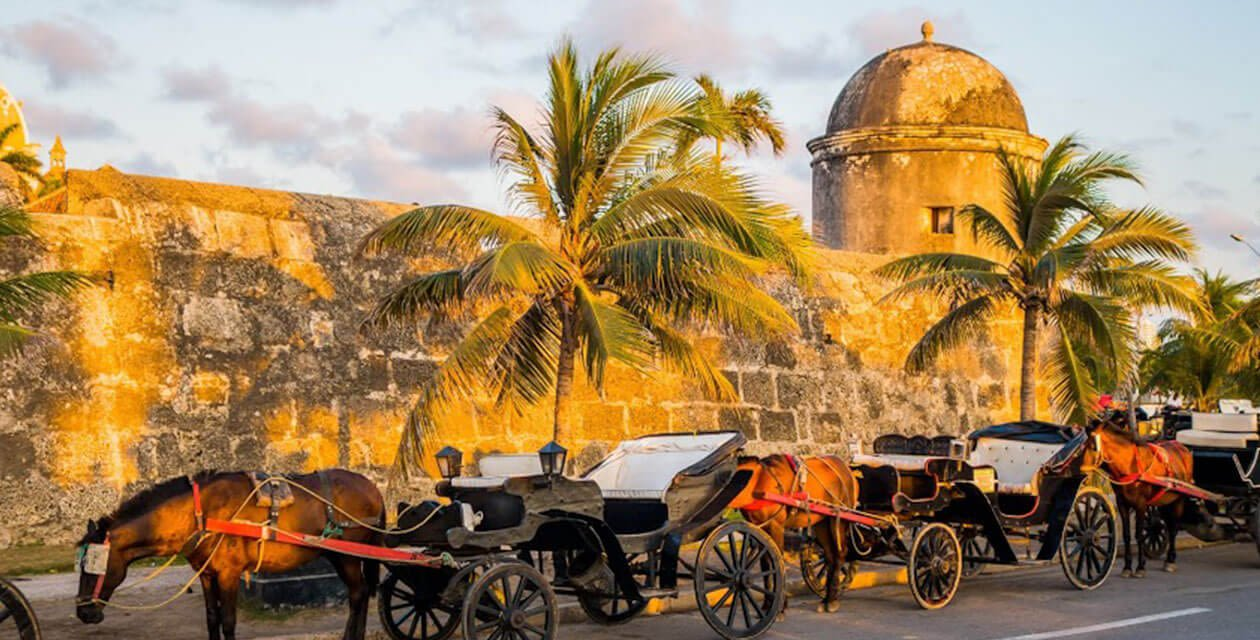 historic center of cartagena colombia