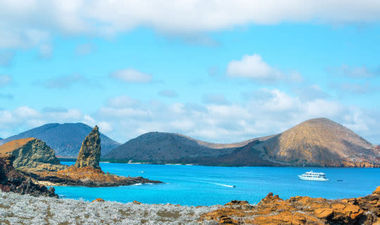 pinnacle rock galapagos island