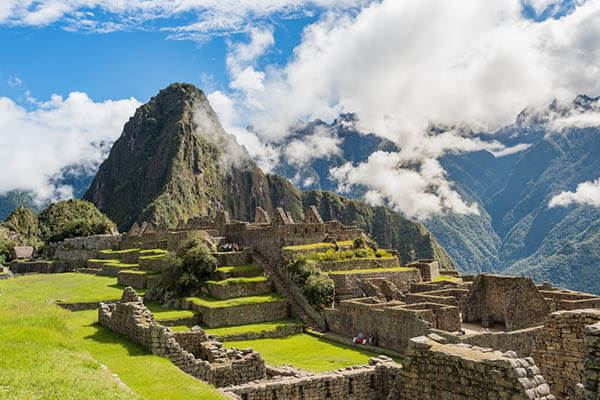 Machu Picchu - Romantic Destinations in South America
