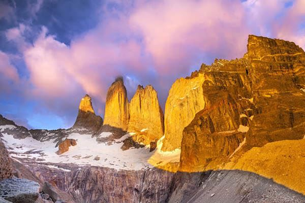 Torres del Paine - Romantic Destinations in South America