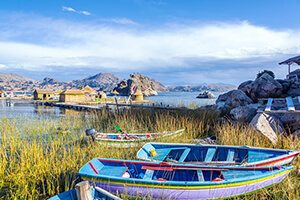 Lake Titicaca Canoes - Family Friendly Travel in Peru