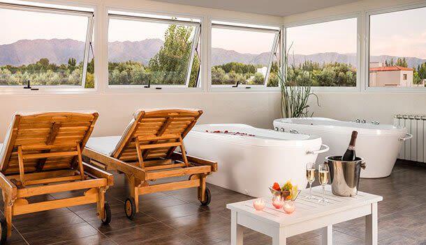 the spa at villa mansa