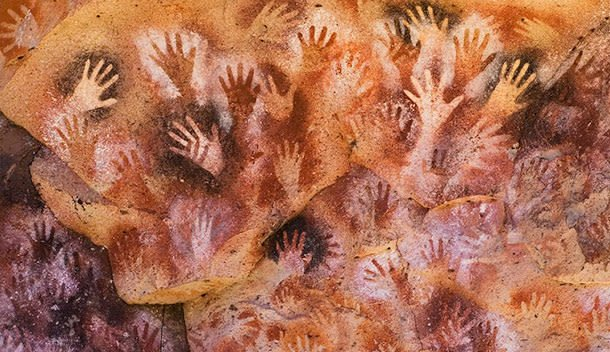 cave of the hands in patagonia