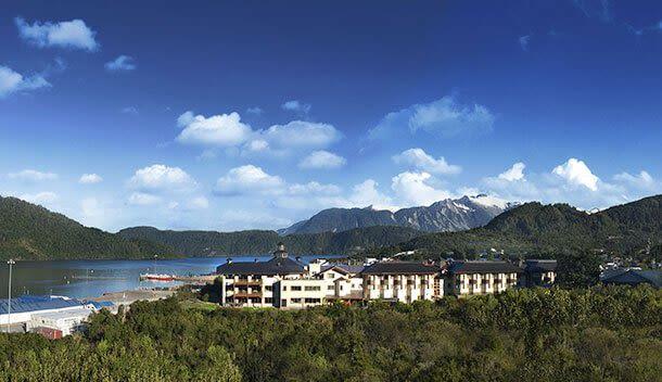 panoramic view of Hotel Loberías del Sur