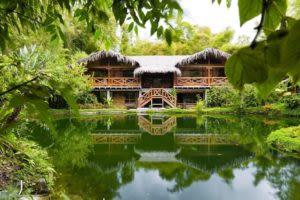 Beautiful Amazon Jungle lodge