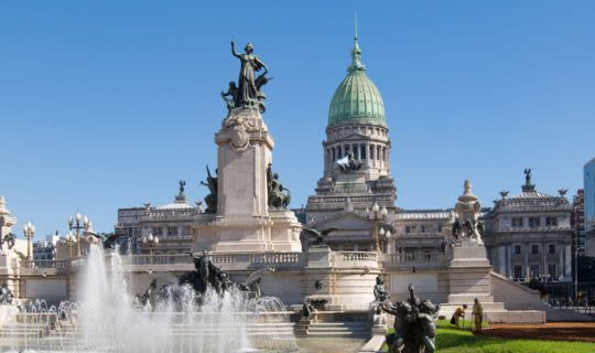 The Plaza de Mayo in Buenos Aires