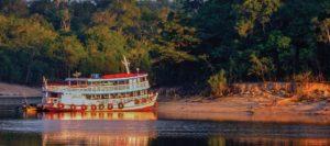 Amazon River Cruise during Sunset
