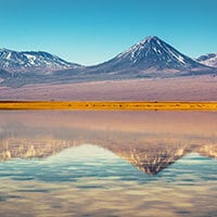 Atacama reflecting pond