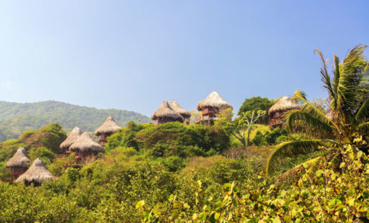 Aviario Baru Island resort views