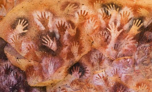 9000 year old Cueva de las Manos site in Argentina