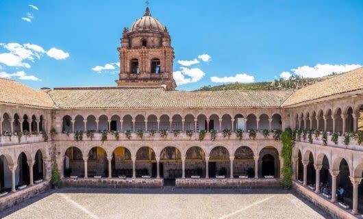 old building in cusco