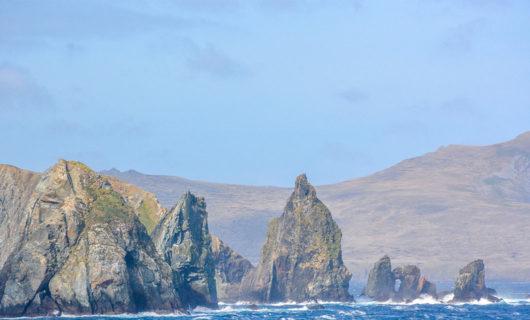 Dramatic coastline of Cape Horn