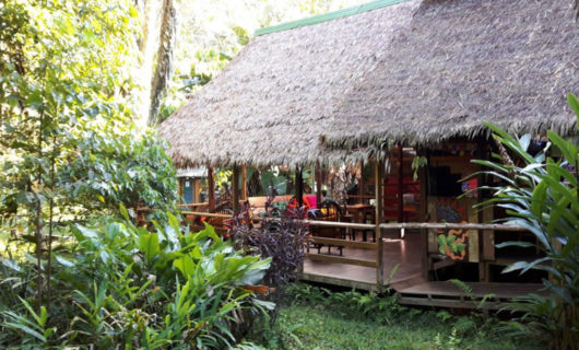 Porch of Inotawa Lodge