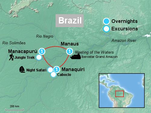 Tour Map iberostar