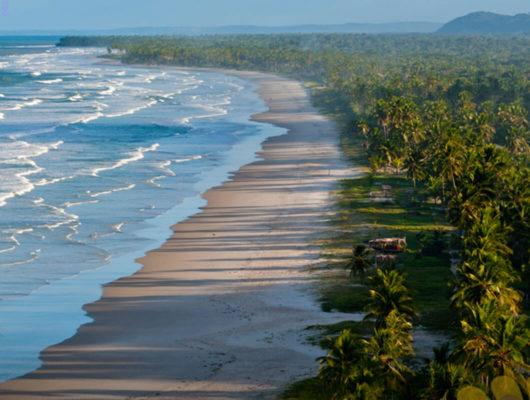 Beach area at Kiaroa Eco-Luxury Resort