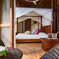La Selva bedroom area