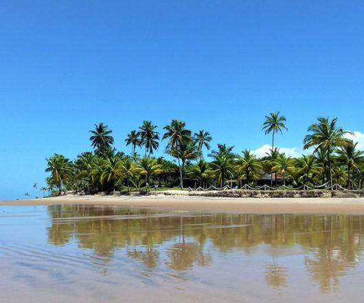 Lagoa do Cassange Salvador island view