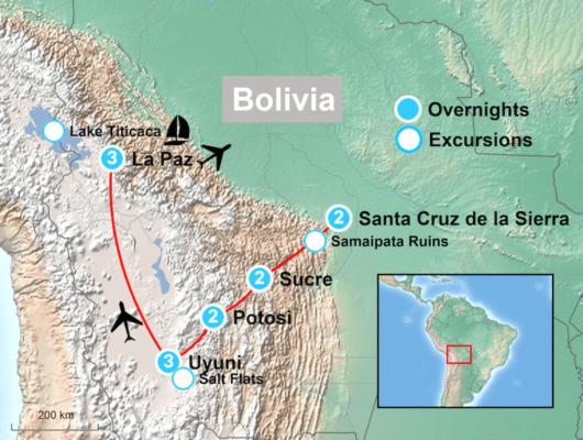 Highlights of Bolivia Itinerary