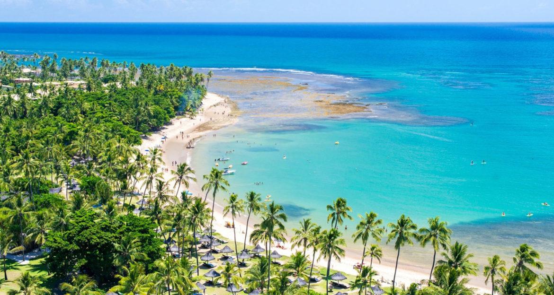 Stunning tropical beach at Tivoli Eco-Resort Praia do Forte