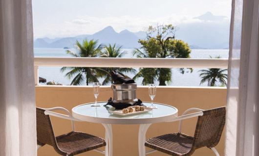 scenic view from Vila Gale Angra dos Reis Brazil Beach Resort balcony
