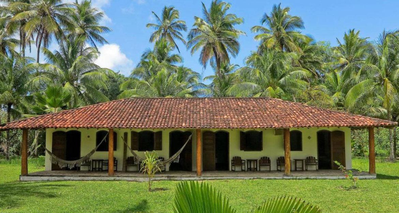 Scenic Villa Guaiamu Bahia Brazil Beach Resort building