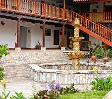 hotel fountain