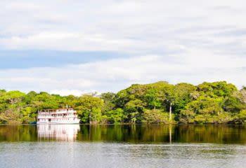 Amazon river cruise ship