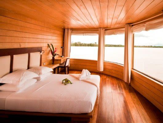 Amazon Delfin II Cruise room