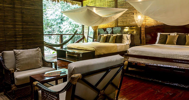 Bedroom suite of Amazon resort