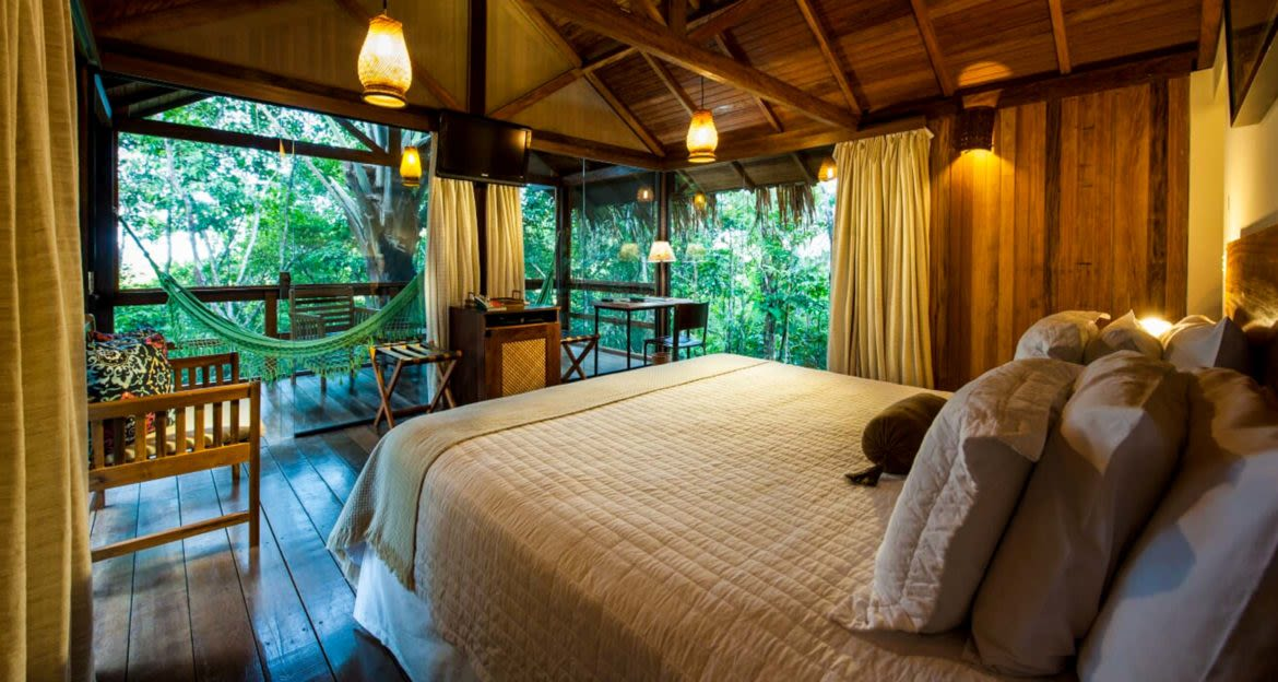 Anavilhanas Jungle Lodge bedroom interior